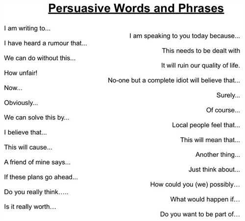 how to write a good persuasive essay z words