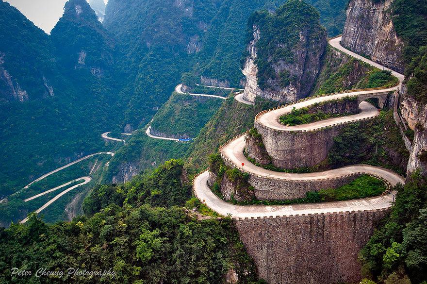 طريق جبلي