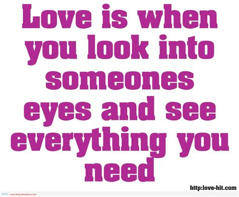 Look Into Her Eyes Quotes