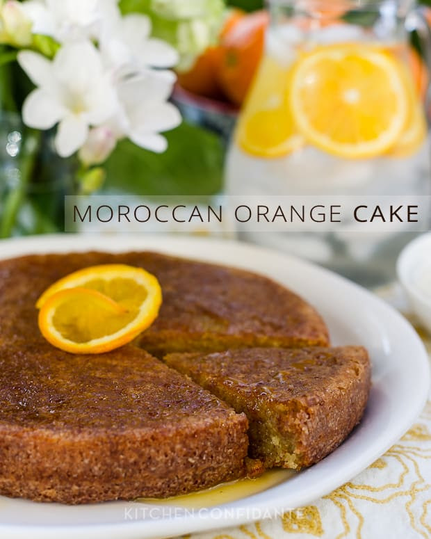 Moroccan Orange Cake | Kitchen Confidante