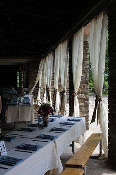 picnic table in pavillion weddings   picnic tables