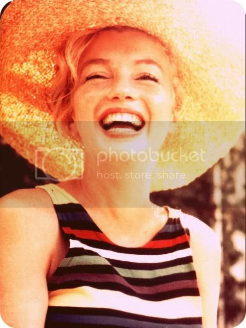 marilyn smiling in the sunshine