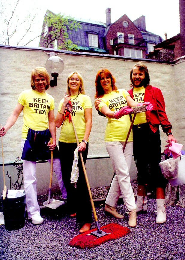 Keep Britain Tidy with ABBA