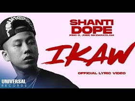 Ikaw by Shanti Dope feat. Pino G & Jobe Nkemakolam [Official Lyric Video]