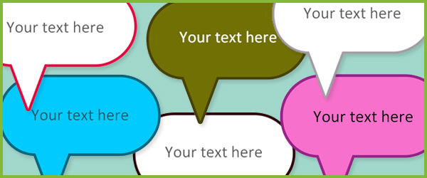 Editable Speech Bubbles | Free Early Years & Primary Teaching ...