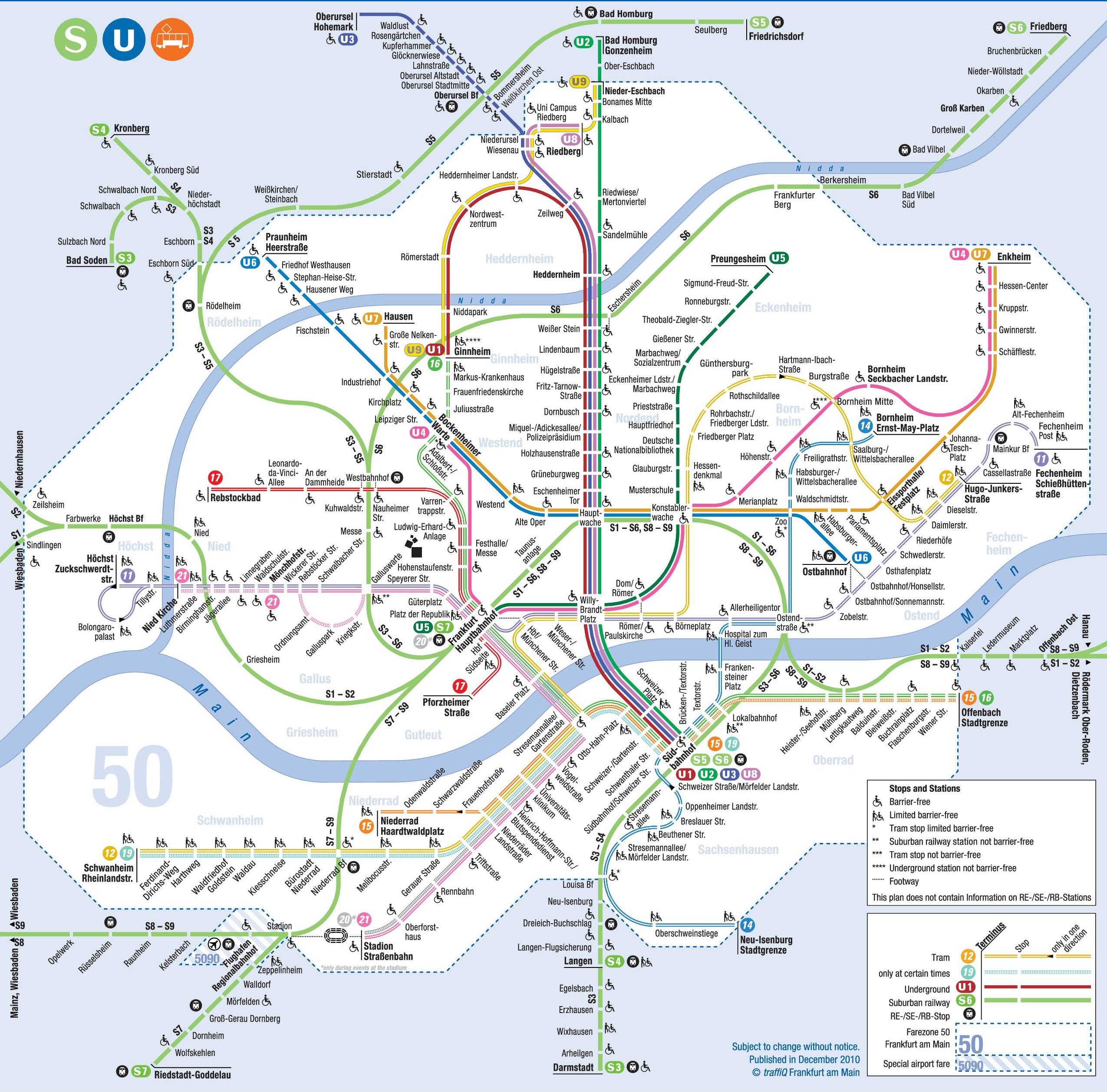 Frankfurt S Bahn Plan