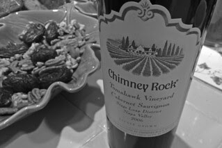 Chimney Rock - 2006 Cabernet Sauvignon Tomahawk Vineyard label