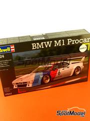 Maqueta de coche 1/24 Revell - BMW M1 Grupo 4 Procar Nº 5, 6 - Niki Lauda, Nelson Piquet - Zolder, Carrera de demostración de Hockenheim 1979 - 2008 - maqueta de plástico