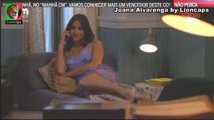 Joana Alvarenga sensual na Cmtv