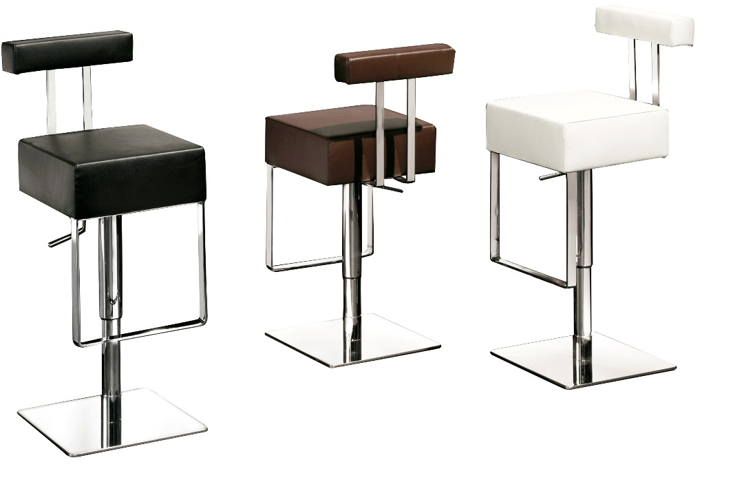 adjustable sam funky bar stools in exclusive design with comfy back for amuing bar ideas