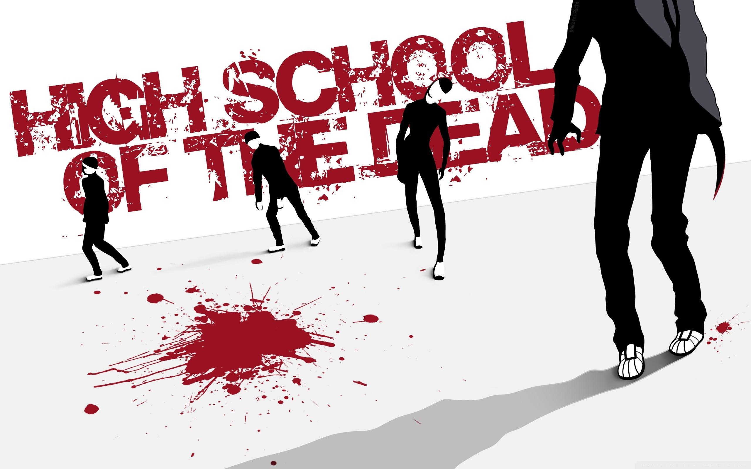 Highschool Of The Dead Ultra Hd Desktop Background Wallpaper For