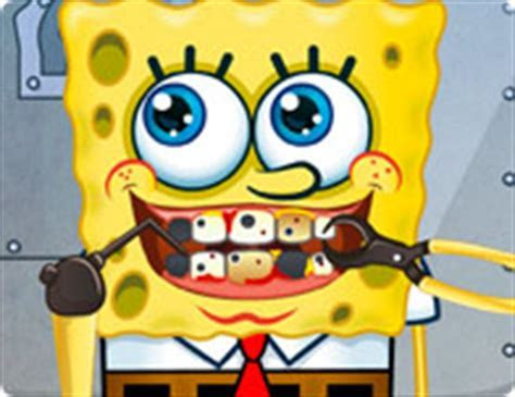 Spongebob Tooth Problems   Girl Games