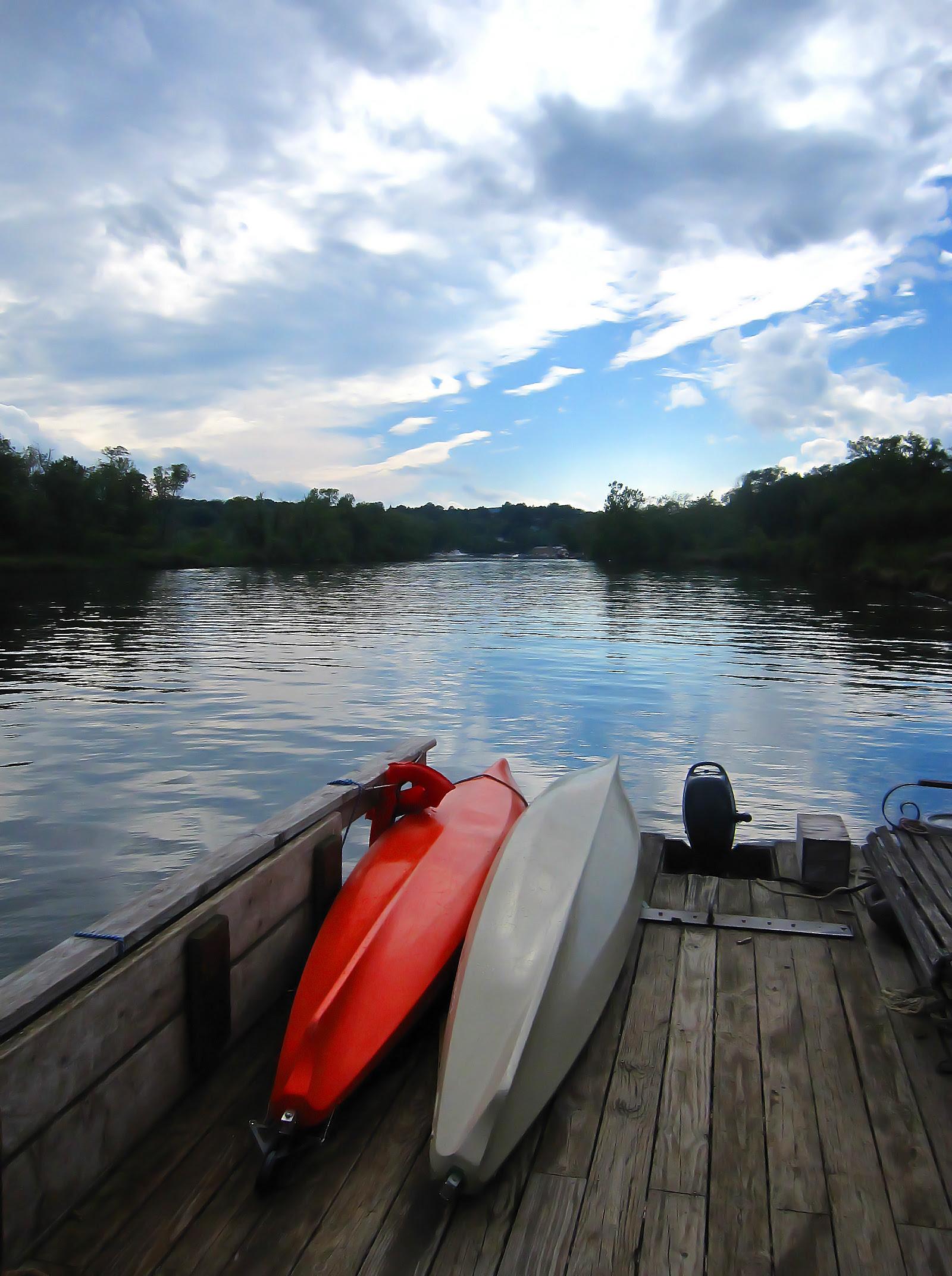 Hudson River at Saugerties