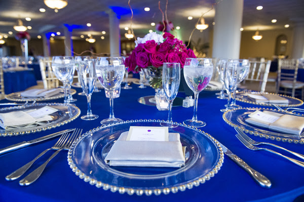 Royal Blue Wedding Reception Wedding Decor Ideas
