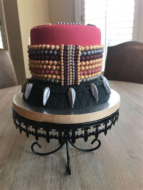 Black Panther Inspired Cake   CakeCentral.com
