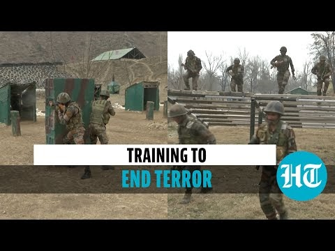 Watch: How Indian Army Trains Soldiers To Battle Terrorists In J&K