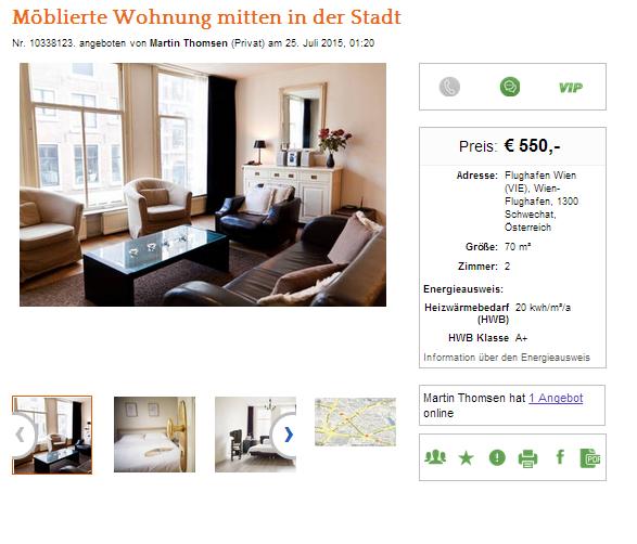 Wohnungsbetrug.blogspot.com: Möblierte Wohnung Mitten In