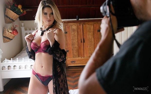 Making of - Mari Alexandre posa para o Paparazzo (Foto: Alexandre Campbell / Paparazzo)