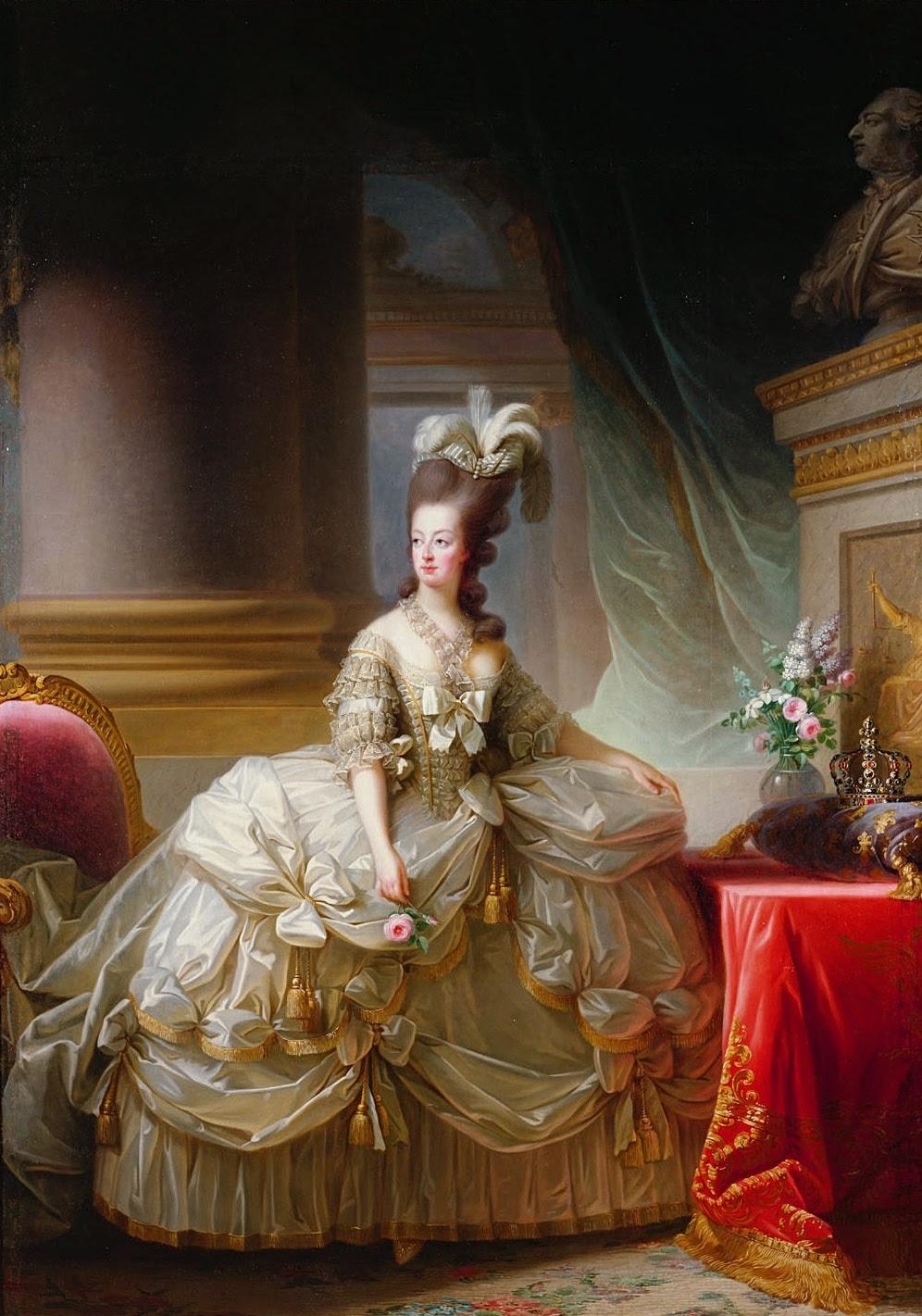 Elisabeth Vigée-Lebrun: Queen Marie Antoinette of France