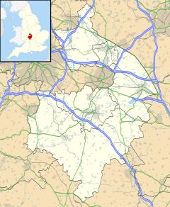 Nuneaton se encuentra en Warwickshire