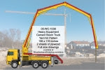 Heavy Equipment Cement Boom Truck Yard Art Woodworking Plan - fee plans from WoodworkersWorkshop® Online Store - heavy equipment,concrete boom trucks,yard art,painting wood crafts,scrollsawing patterns,drawings,plywood,plywoodworking plans,woodworkers projects,workshop blueprints