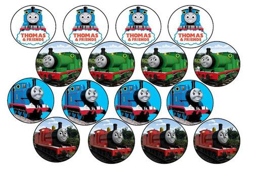 Cake Decorating Thomas The Tank Engine Edible Picture Cupcake