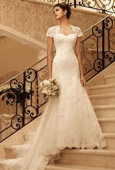 Traditional Style, Trumpet Wedding Gowns for Older Brides