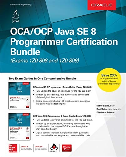 java programmer se oca ocp kathy sierra certification