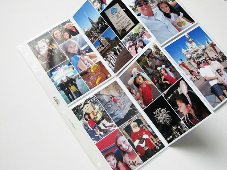 Love all the photo flip pockets in this PL spread. Project Life 2013 - week 46 by Babz510 at @Studio_Calico