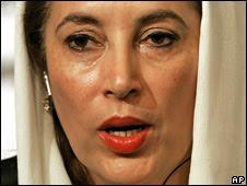 Benazir Bhutto. File photo