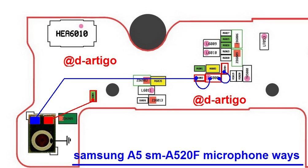 Samsung Galaxy A5 2017 A520F Mic Problem Jumper Solution Ways Microphone Not Working