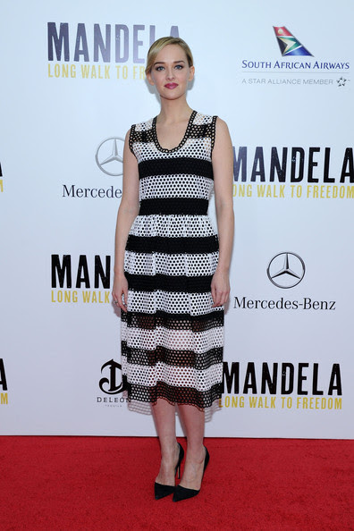 Jess Weixler - 'Mandela: Long Walk to Freedom' Premiere — Part 4