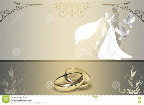 Wedding Invitation Card Design. Stock Illustration   Image