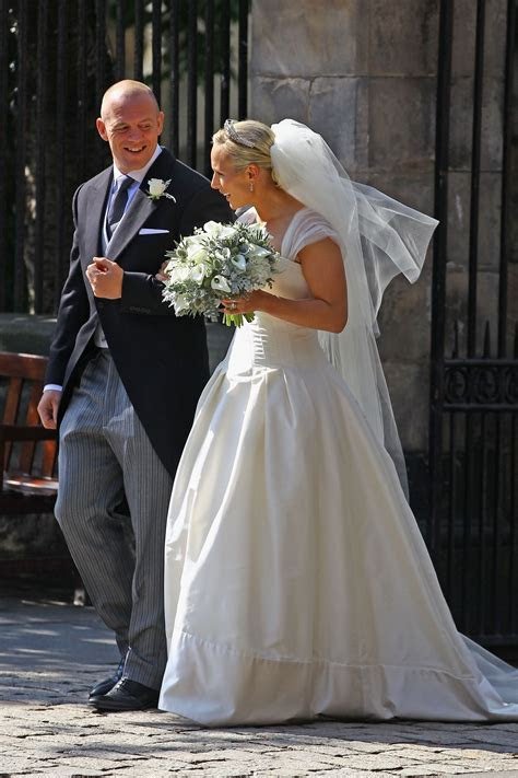 Pictures of Zara Phillips and Mike Tindall's Royal Wedding