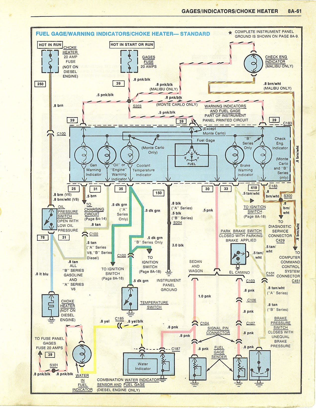 1969 El Camino Wiring Harness | Wiring Library