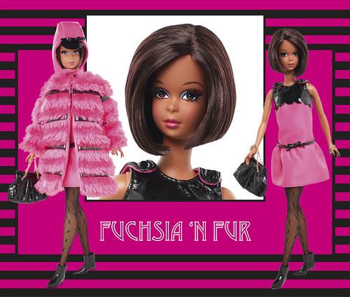Fuchsia 'N Fur Francie