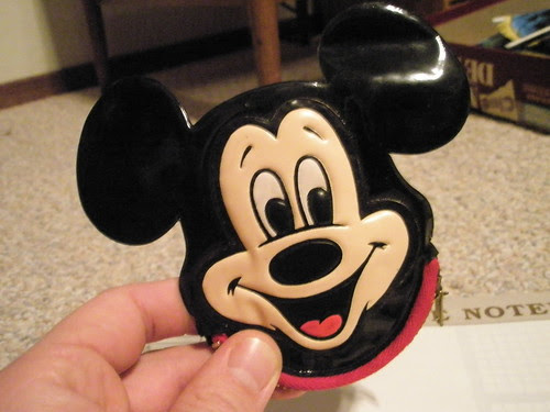 mickey mouse change purse