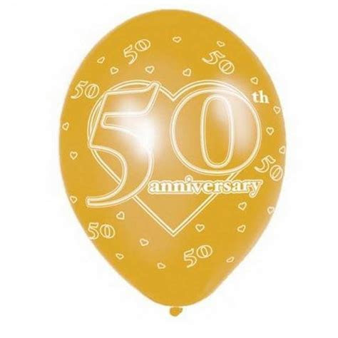 25th Silver Wedding Anniversary Printed Balloons Party