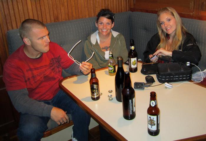 Drinking Aboard HofG