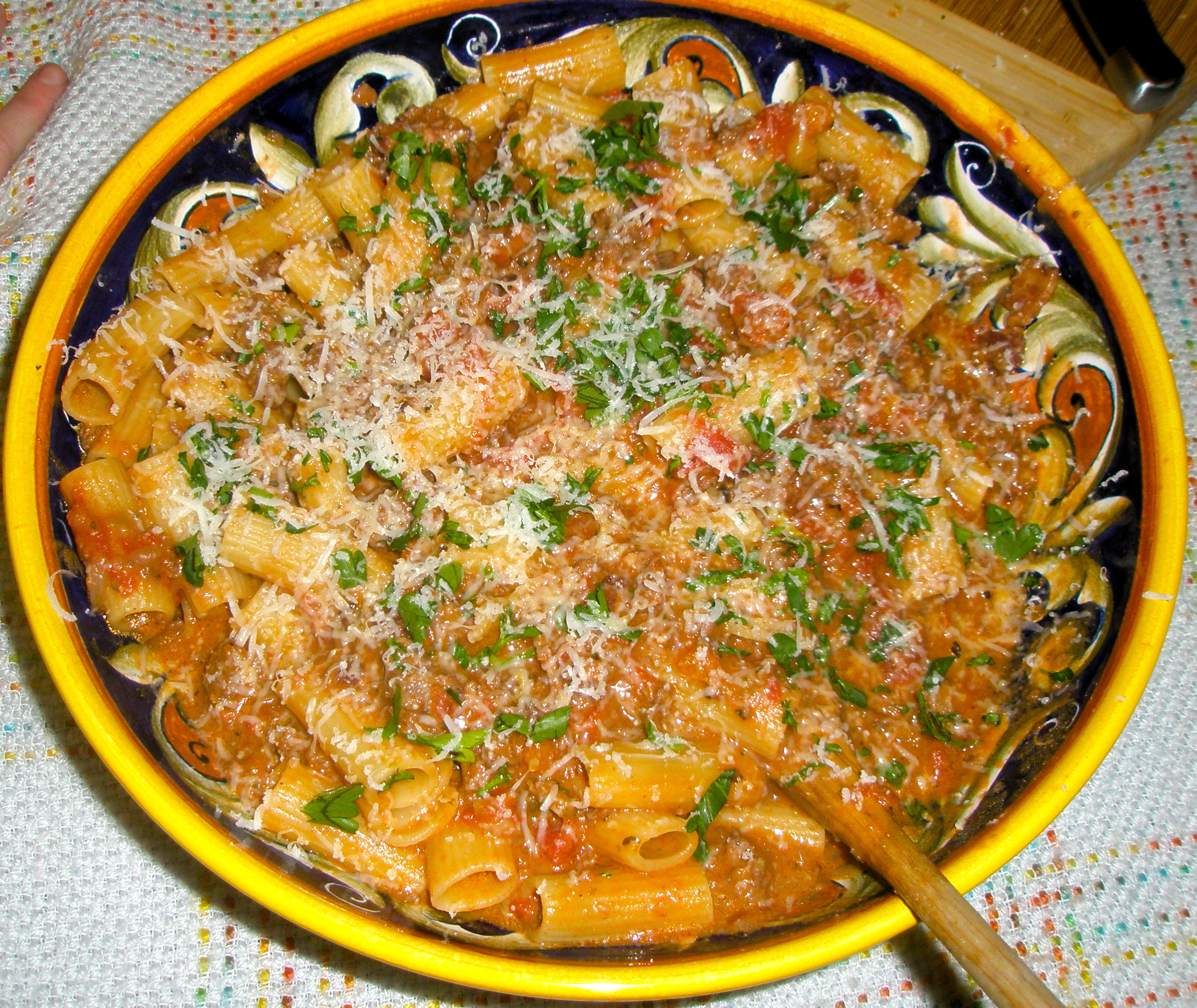 Pappardelle Bolognese Recipe49