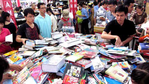 thị hiếu đọc sách, văn hóa đọc, miền Nam, miền Bắc
