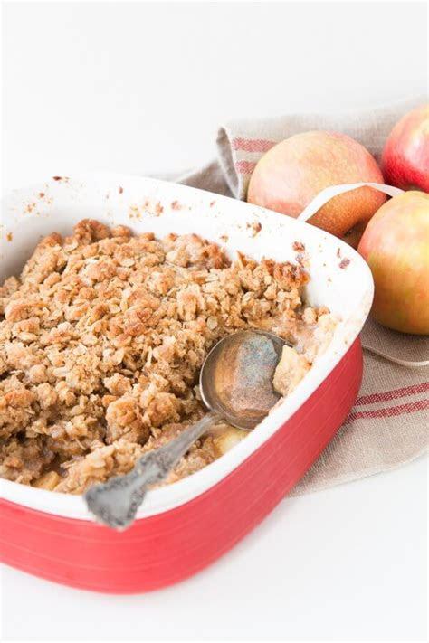 apple crisp recipe  sweet basil