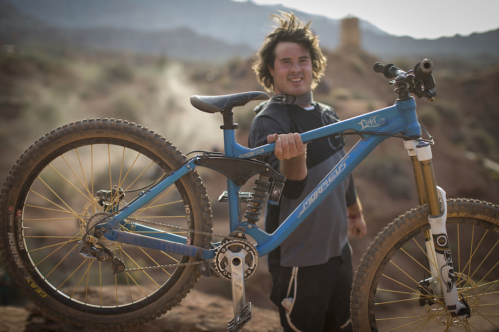 Casey Groves at Redbull Rampage 2012