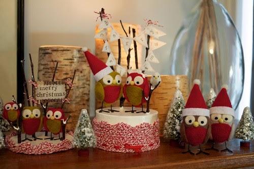 My Owl Barn Snowy Owls Christmas Decorations