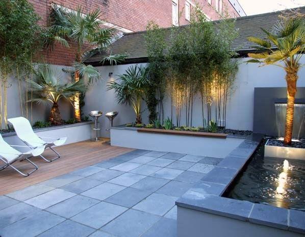 Courtyard garden (© My Landscapes)