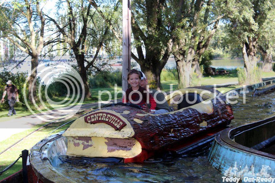 Lumber Mill Log Flume Ride