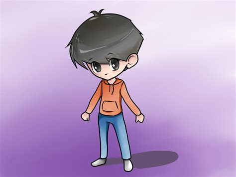 draw  chibi boy  pictures wikihow