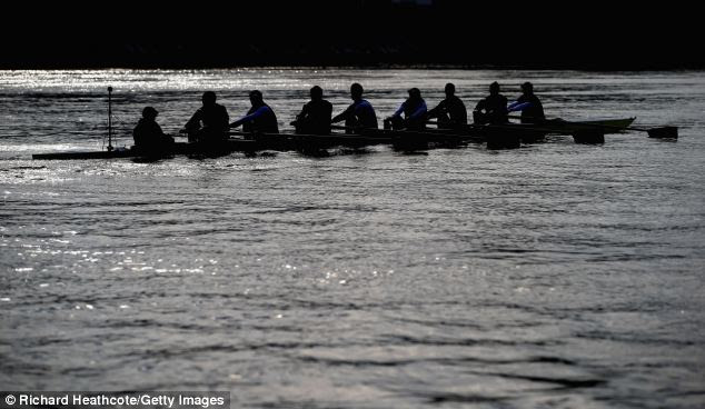 The two teams will go head to head on Easter Sunday in the Boat Race from Putney to Mortlake