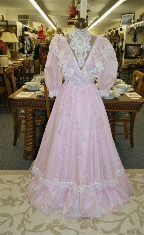 vintage  gunne sax formal prom dress  jessica