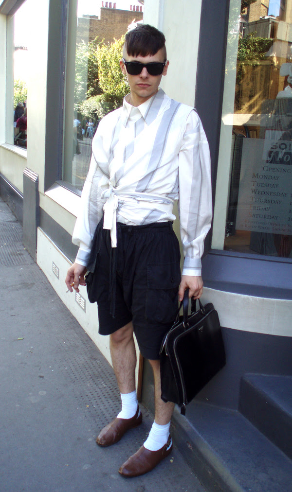 shorts and great hair
